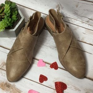 quipid Shoes - Two left  Distressed flat bootie nib sz 6 And 7